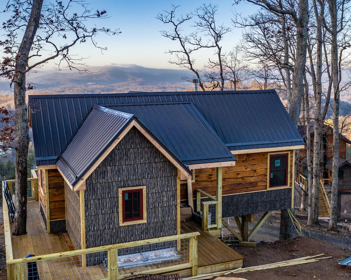 custom built home NC
