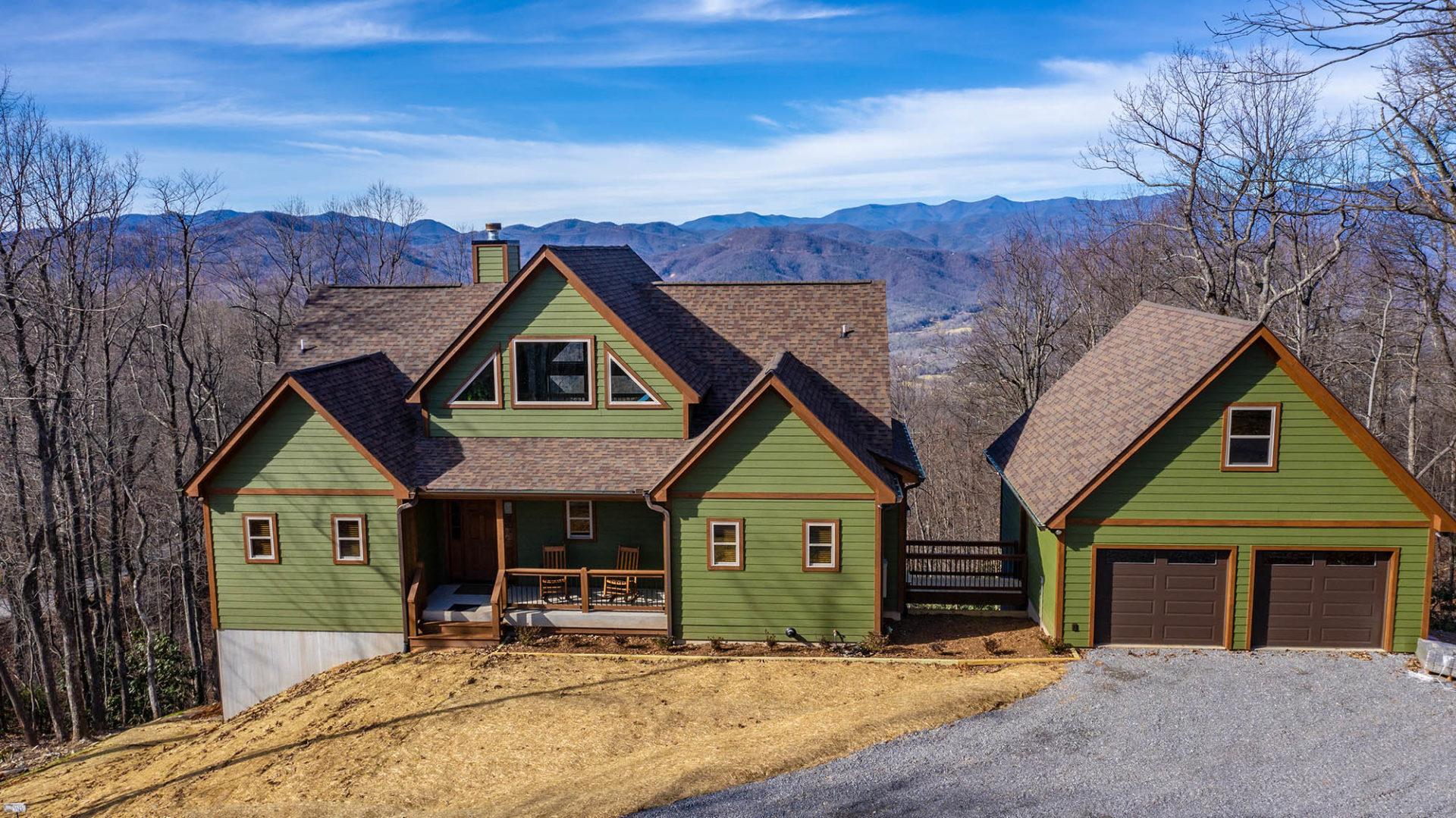 custom mountain home NC