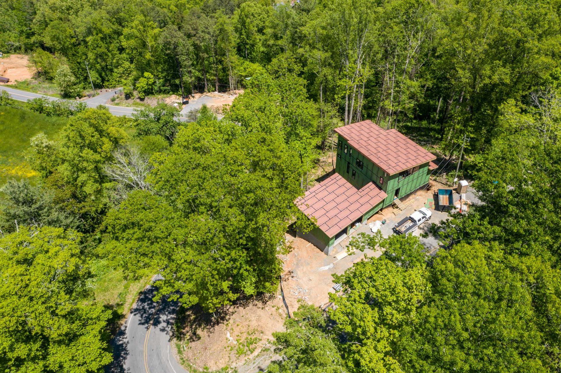 Custom Home Building in Western North Carolina