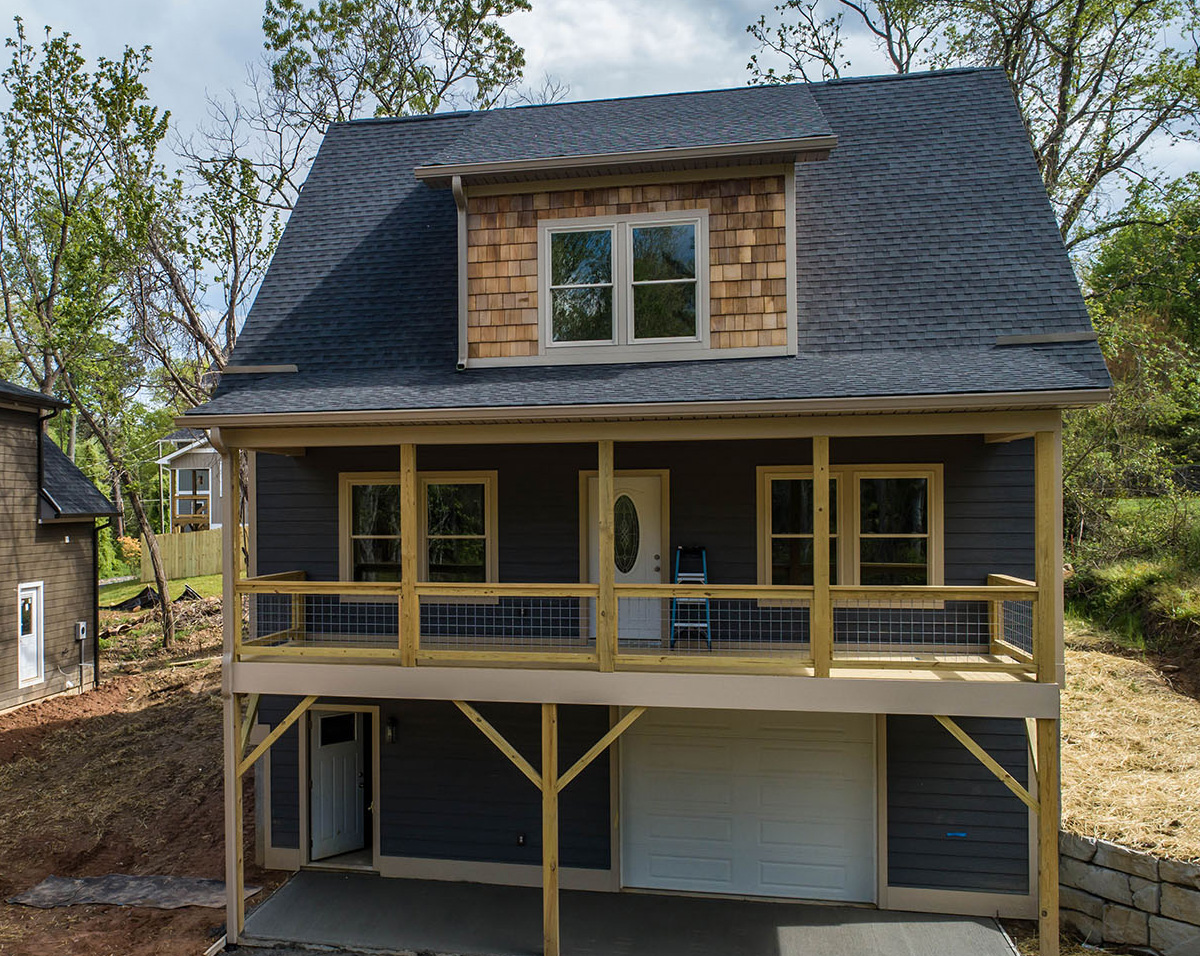 Mountian home builder NC